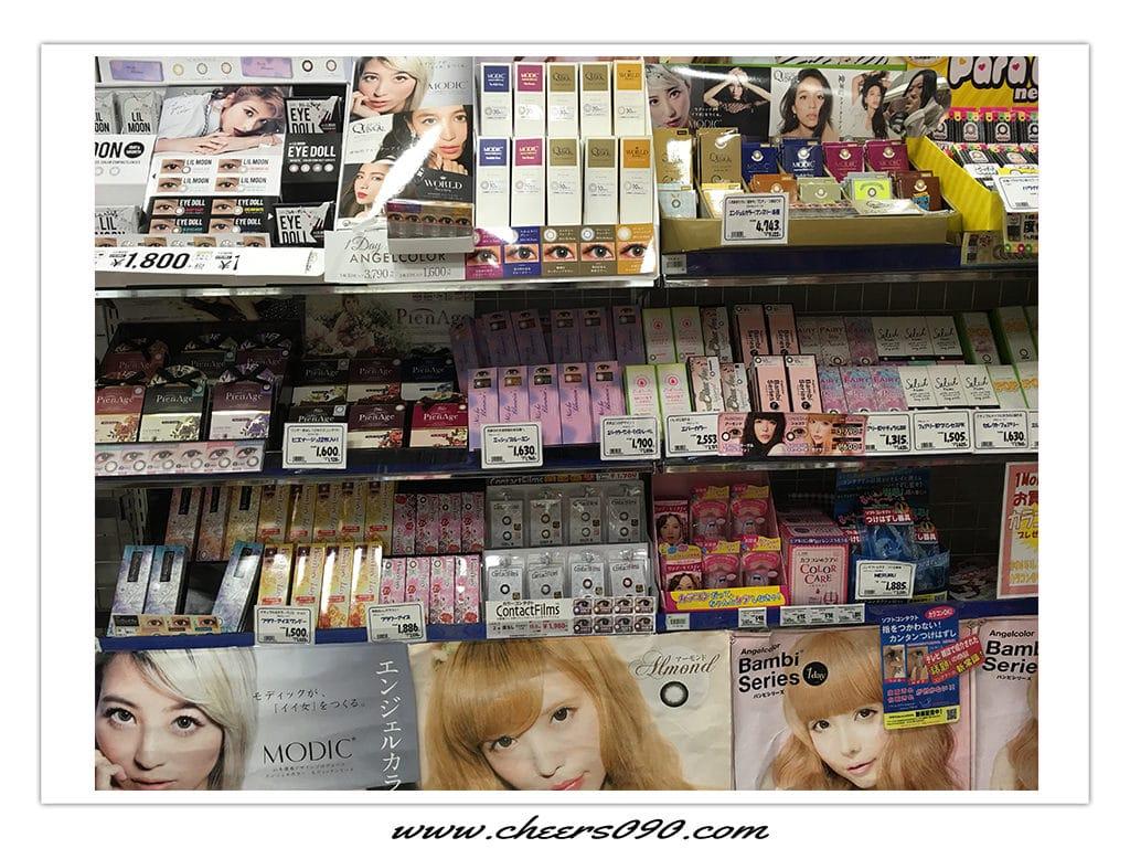 日本 美妝 美瞳 隱形眼鏡 LILMOON contact-lenses