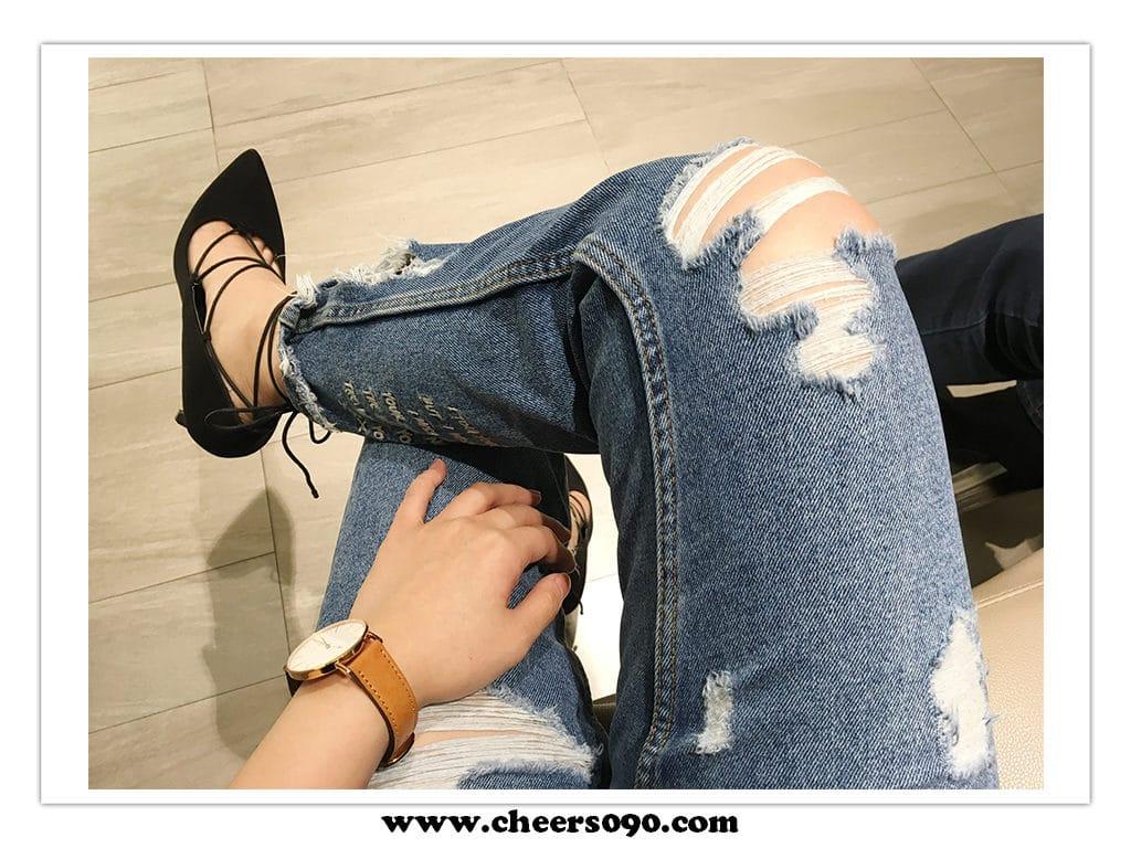 穿搭 時尚 Mom Jeans 媽媽褲 牛仔褲
