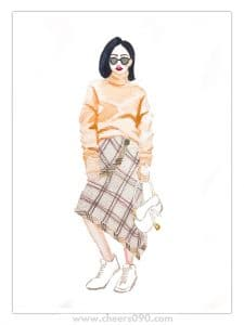 新光三越 過年買新衣 逛街 時尚 穿搭 台北逛街推薦 信義新天地 血拚 打折季 購物
